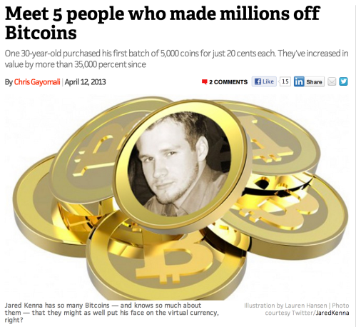 Jered Kenna, the face of Bitcoin